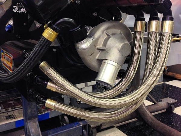 A Shaver sprint motor fitted...