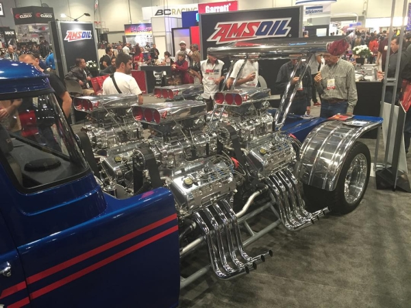 Sometimes you just have to have four blown engines